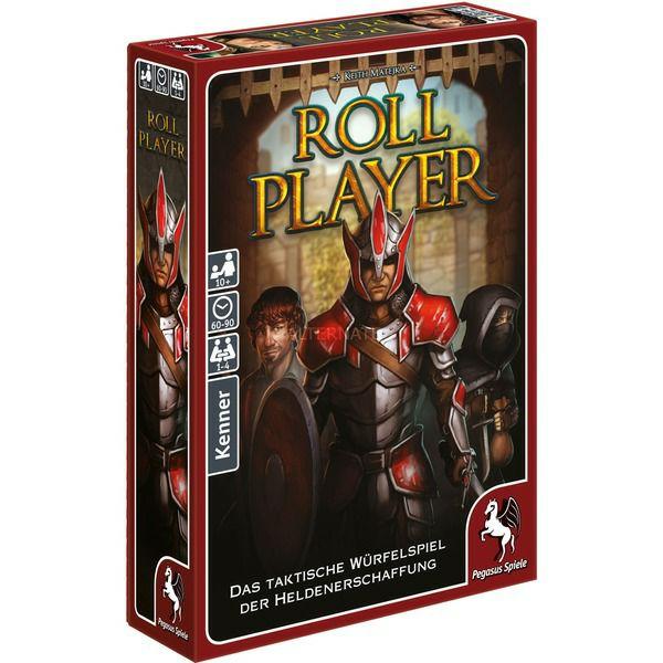 Pegasus Spiele, Roll Player, Brettspiel, Würfelspiel, 1-4 Spieler, ab 10 Jahren [Alternate]