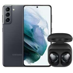 Samsung Galaxy S21 128GB mit Buds Pro im O2 Free L Boost (120GB 5G, Allnet/SMS, VoLTE, Connect) mtl. 35,99€ einm. 29€