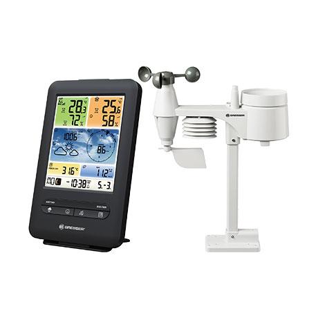[Aldi/online] Bresser WLAN Farb-Wetter Center mit 5-in-1 Profi-Sensor V oder (nur Aldi-Nord) die horizontale Variante für 99,99€