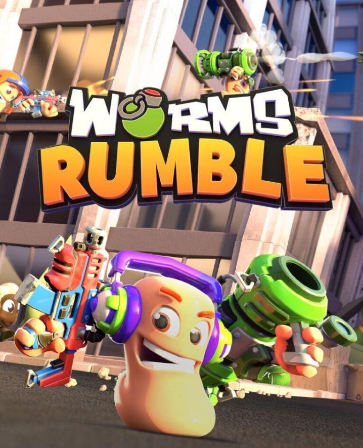 Worms Rumble für Nintendo Switch - inklusive Patchwork-Bären-Kostüm [Nintendo eShop]