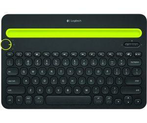 Logitech K480 Kabellose Bluetooth-Tastatur für Computer, Tablet und Smartphone, Multi-Device & Easy-Switch Feature [Saturn]