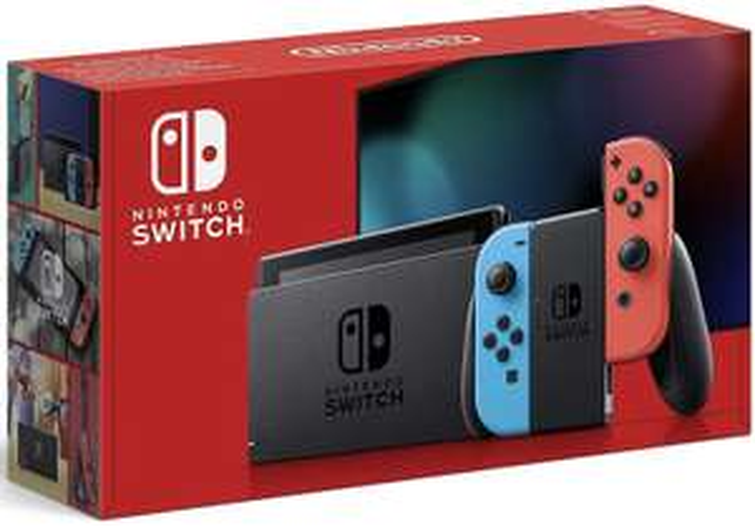 10% Rabatt auf Gaming ab 17.06. bei ebay - z.B. Nintendo Switch Konsole rot/blau für 291,55€