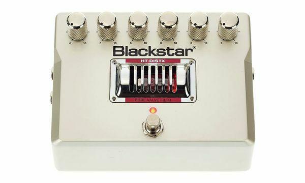 Blackstar HT DistX, Gitarren-Effektpedal, Sovtek 12AX7 Röhre, Distortion True Bypass, inkl. Netzteil [Thomann]