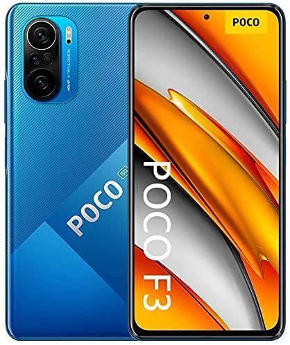"""[amazon.it] Xiaomi POCO F3 5G - 8GB+256GB, Deep Ocean Blue, Snapdragon 870, 120Hz 6.67"""" AMOLED FHD+, 4520mAh/33W, 48MP"""