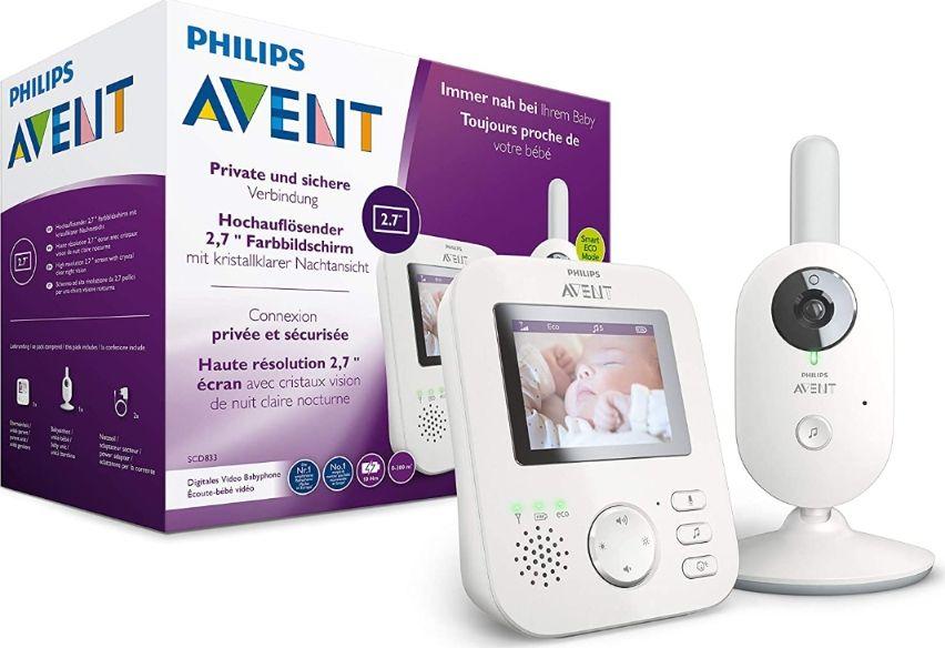 Philips AVENT SCD833/26 Babyphone / weitere 15% über Baby wishlist möglich