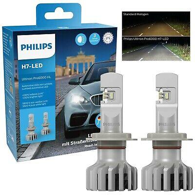 PHILIPS ULTINON Pro6000 H7 12V LED mit StVZo ZULASSUNG bis zu 230% HELLIGKEIT