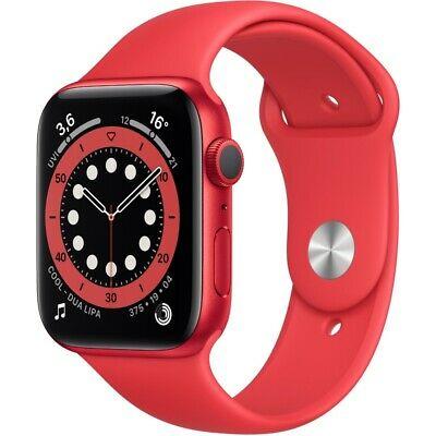 [eBay+] Apple Watch Series 6 (GPS) 40mm Aluminium rot mit Sportarmband (US-Ware mit voller Garantie)