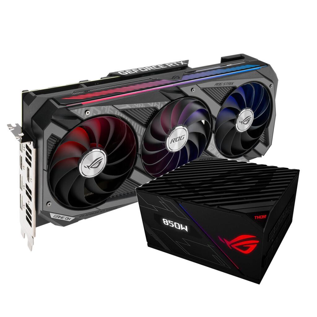 Bundle ASUS ROG Strix GeForce RTX 3070 OC / ASUS ROG Thor Platinum