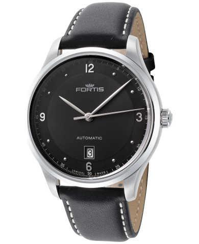 Fortis Tycoon Date P.M. Automatik Herren-Uhr (41 mm, 42 h Gangreserve, Saphirglas) in schwarz für 612,48€ @Ashford / braun für 599€ @Altherr