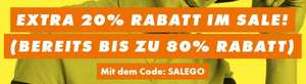 ASOS: 20 % Rabatt extra auf auf den SALE
