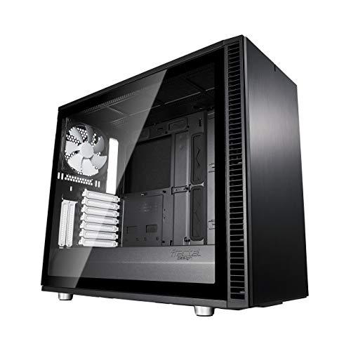 Fractal Design Define S2 Black, Tempered Glass, Schallgedämmt