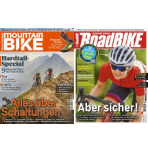 MountainBIKE Abo und RoadBIKE Abo für jeweils 64,90 € mit 50 € Amazon-Gutschein (Kein Werber nötig)