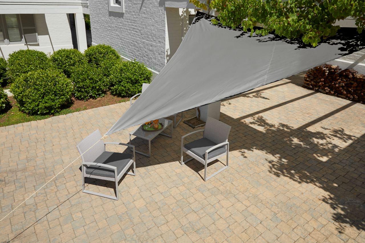 Sonnensegel 360x360x360, 100% Polyester @Dänischen Bettenlager für 7,50€ bei Abholung