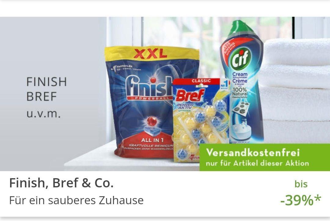 [limango] Verschiedene Finish Produkte bis 39% Rabatt. Versand kostenlos