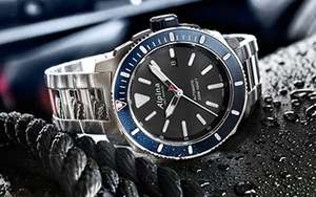 ALPINA SEASTRONG Diver 300 Automatikuhr 44mm/Datum/Saphirglas/Sichtboden