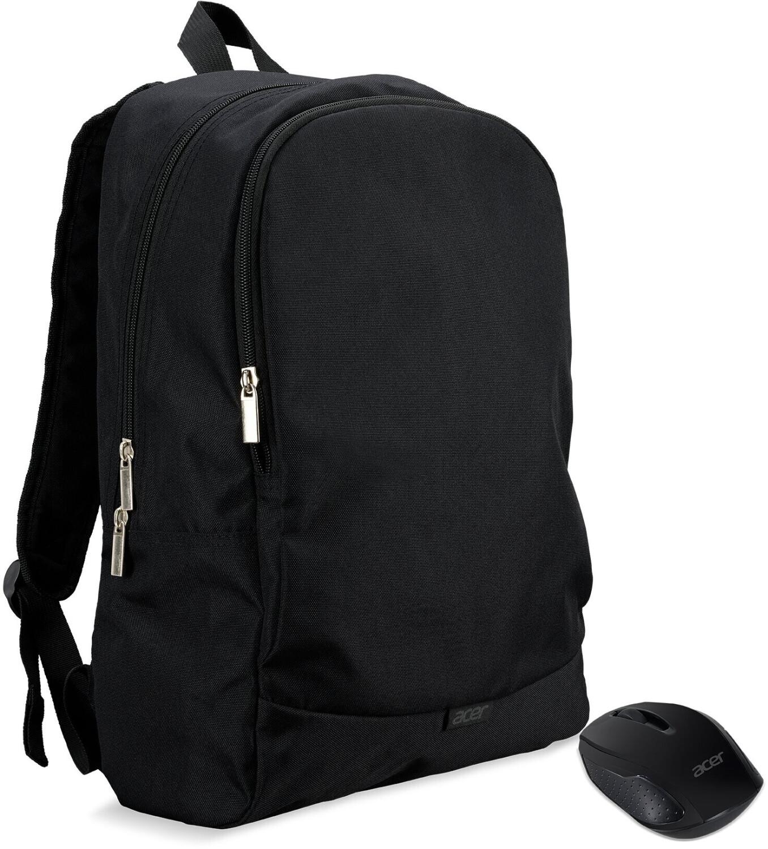 """Acer Notebook Starterkit: Rucksack für Laptops bis 15.6"""" + Wireless Maus (1000dpi, 3 Tasten)"""