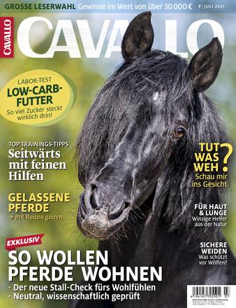 Cavallo Abo (12 Ausgaben) für 61,90 € mit 40 € Amazon-Gutschein (Kein Werber nötig)