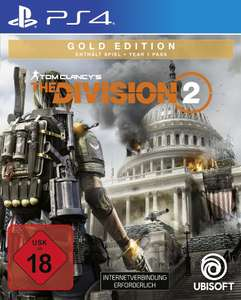 LOKAL PS4 Tom Clancy's - The Division 2 (Gold Edition) 2,67€ bei Abholung, Black Ops 4 für 3,97€