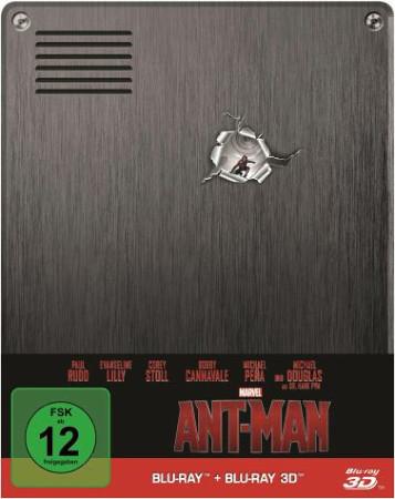 Marvel's Ant-Man - Steelbook (3D Blu-ray + Blu-ray) für 13,99€ inkl. Versand (Expert)