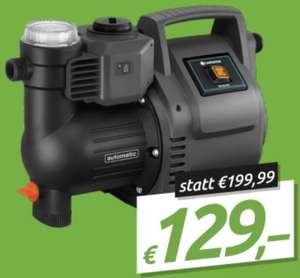 Gardena Haus- und Gartenautomat 3500/4 Hauswasserwerk Pumpe für 129€ inkl. Versandkosten