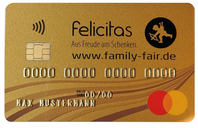 felicitas family-fair Mastercard GOLD 15€ bei Erstbezahlung // Gebührenfrei!!!