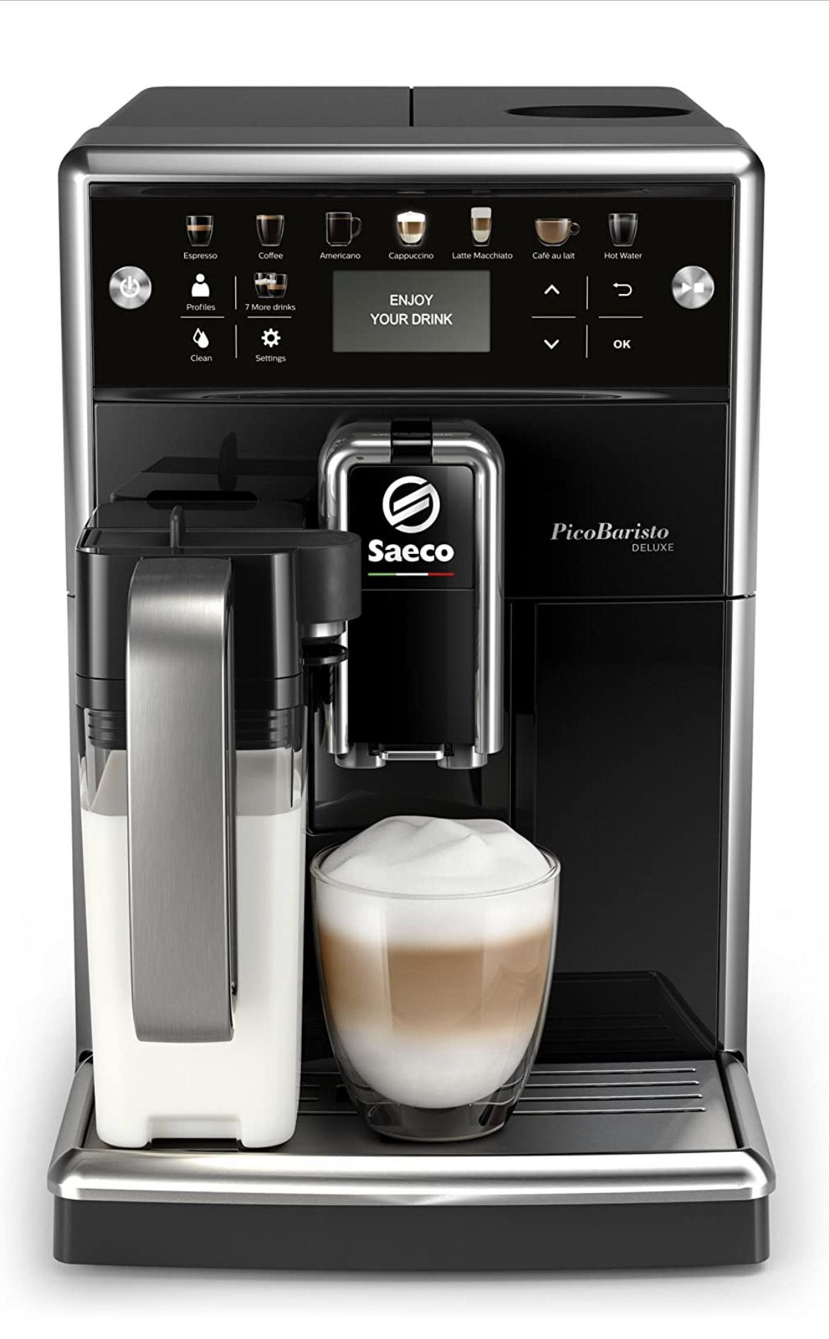 Saeco PicoBaristo Deluxe SM5570/10 Kaffeevollautomat [Amazon]
