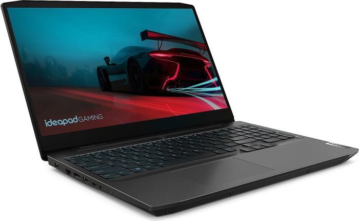 Lenovo IdeaPad Gaming Laptop 3 15ARH05 Onyx Black, Ryzen 5 4600H, 16GB RAM, 256GB SSD, 1TB HDD, GeForce GTX 1650, DE (82EY00HCGE)