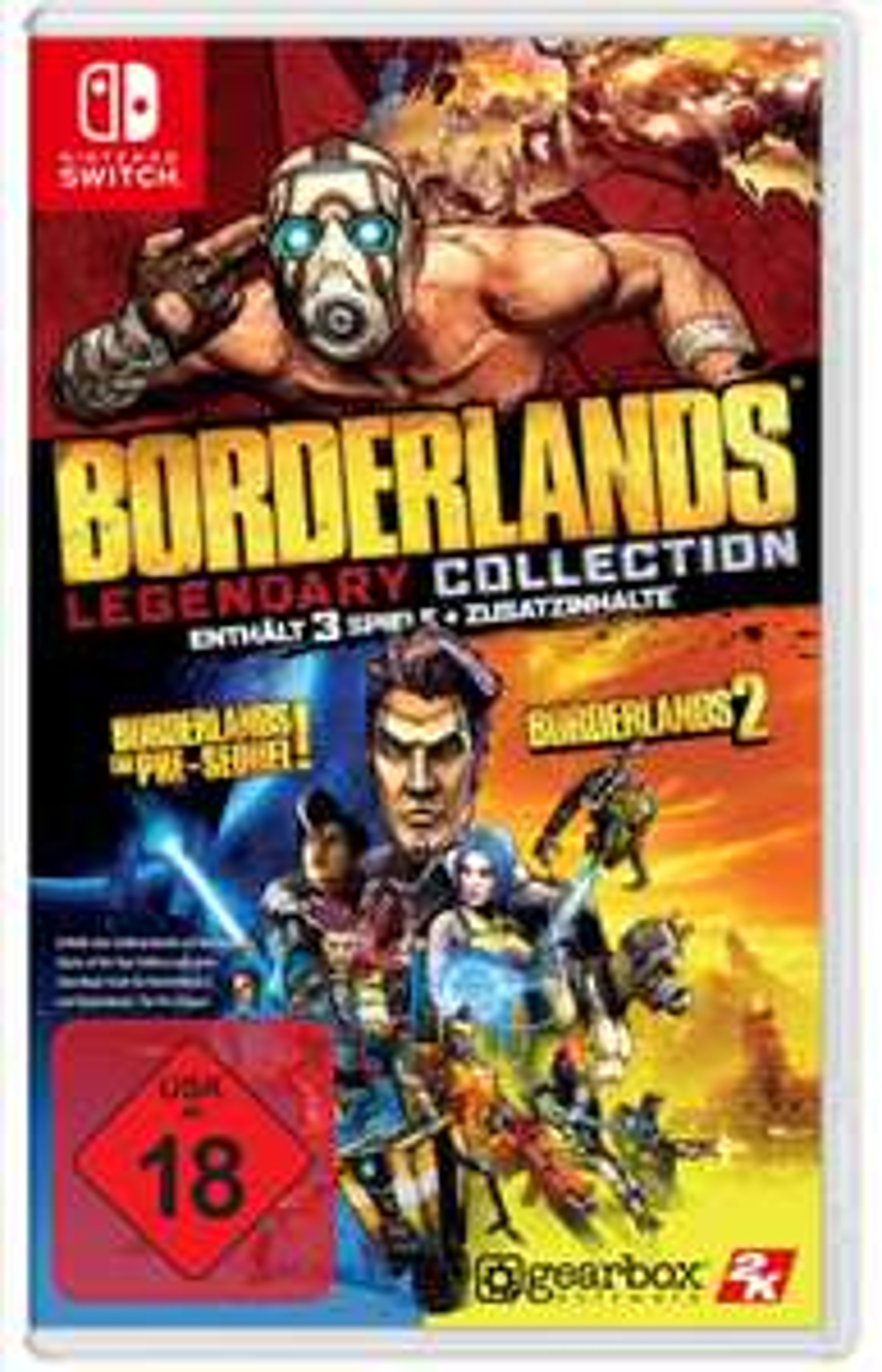 [Nintendo Switch] Borderlands - Legendary Collection [physische Version]