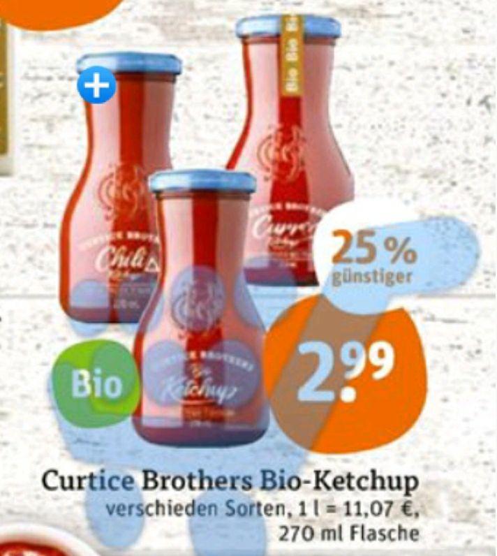 Curtice Ketchup bei Tegut für 2.99€ im Angebot Dank Cashback von Scondoo und Kochbar (Evtl Gewinn möglich).
