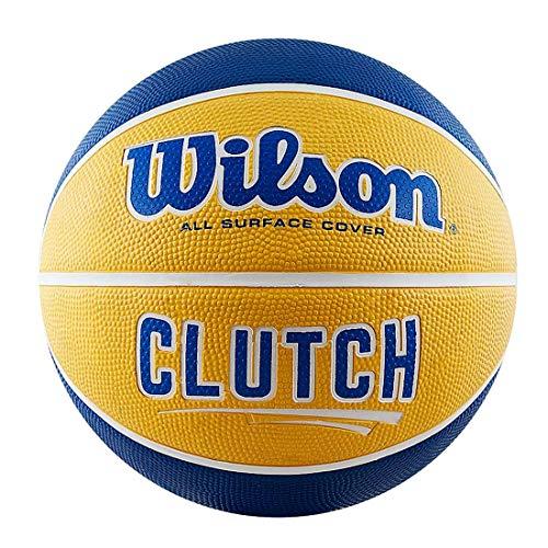 (Amazon Marketplace) Wilson Clutch yellow/blue Basketball Gr. 7
