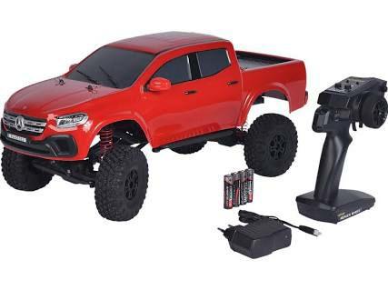 CARSON 1:10 MC-10, Mercedes Benz X-Klasse 2.4Ghz, RC-Crawler, 100% RTR Spielzeugmodell, Rot [Saturn]