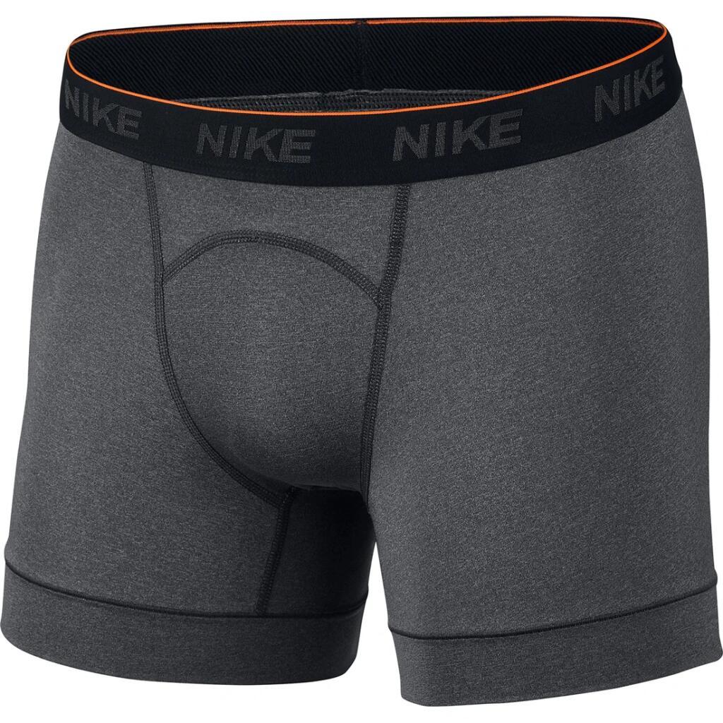 (Intersport) Nur Gr. S + anthracite NIKE Underwear Boxershorts Training Brief Boxershort 2er Pack