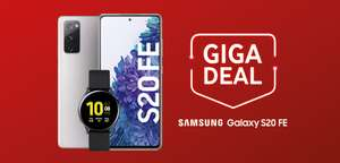 [Gigakombi] Samsung Galaxy S20 FE mit Watch Active 2 im Red M Unlimited mtl. 32,99€ einm. 1€ [12,12€ mtl. nach Ankauf]   Young L = 613,87€