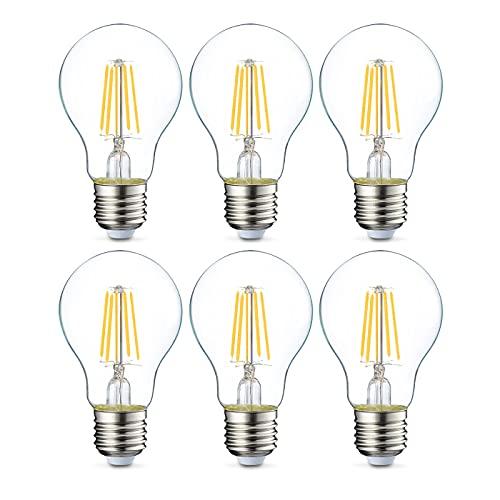 Diverse E27 LED Glühbirnen im 6er Pack [Amazon Basics Sammeldeal für Leuchtmittel]