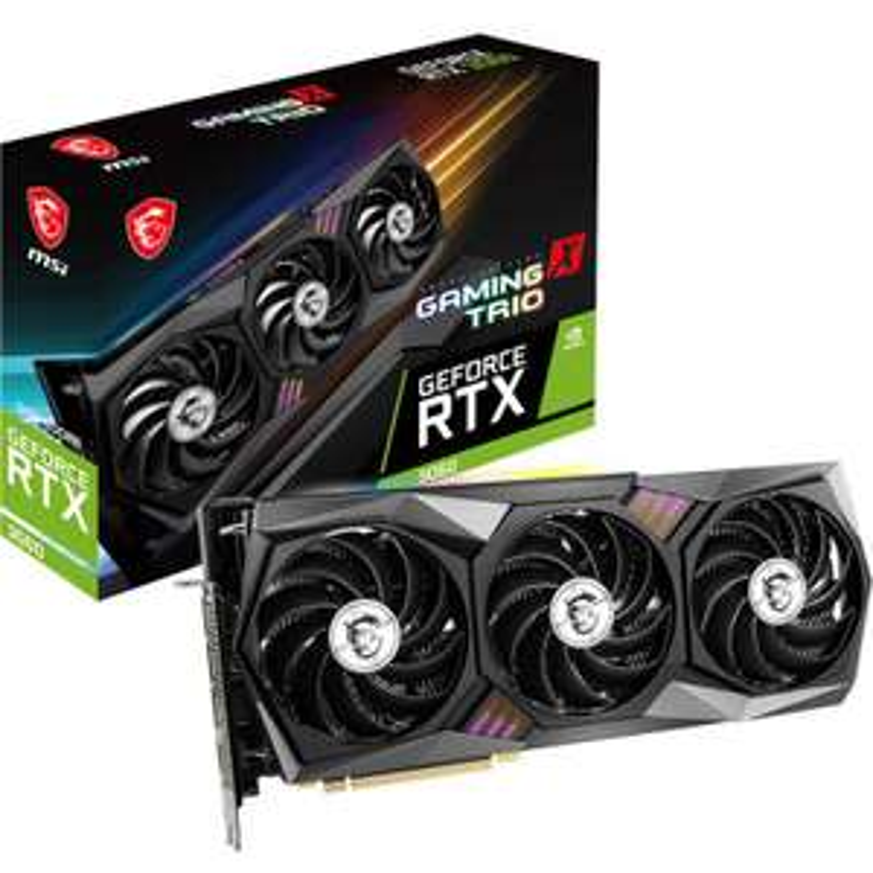 12GB MSI GeForce RTX 3060 Gaming X Trio (Retail)
