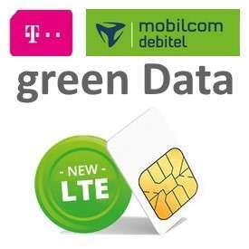 MD Telekom green Data XL Datentarif (25GB LTE) 14,91€/M durch 50€ Cashback / mit 30€GS 13,66€/M
