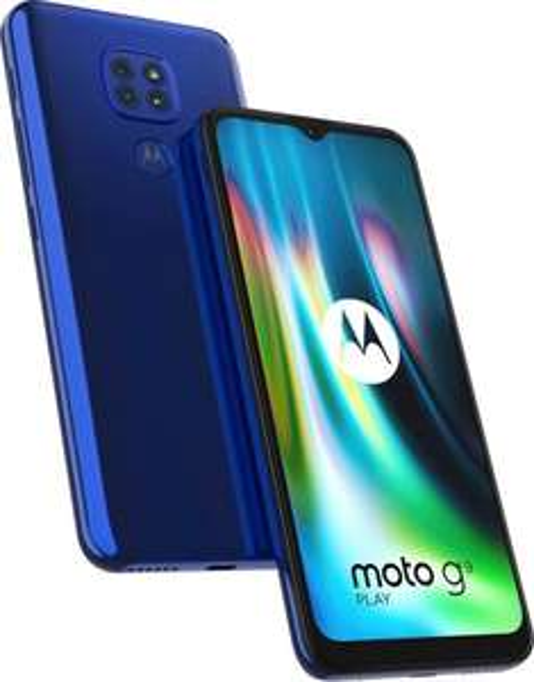 "Motorola Moto G9 Play 6,5"" HD+ Dual-SIM Smartphone 4/64GB (Snapdragon 662, 175K AnTuTu, 5.000 mAh, 48 MP Triple-Cam, USB-C, NFC)"