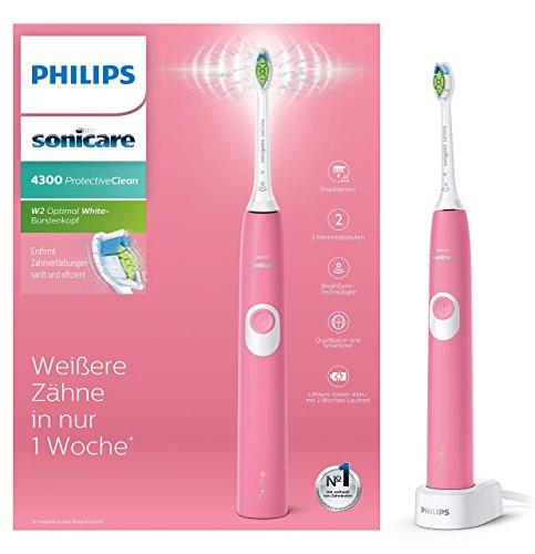 Philips Sonicare ProtectiveClean 4300 elektrische Schallzahnbürste HX6805/28