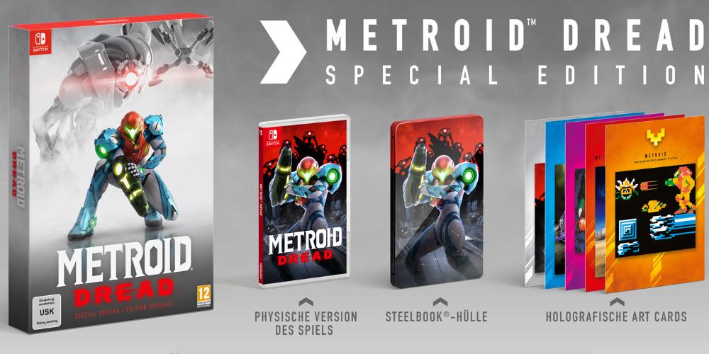 Metroid Dread Special Edition (Switch) für 79,99€ inkl. Versand / Vorbestellung (Media Markt & Saturn)