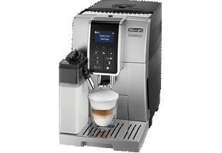 [Saturn] DELONGHI ECAM 352.57.SB DINAMICA Kaffeevollautomat Kaffeemaschine mit Milchbehälter Silber/Schwarz