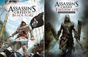 [PC] Assassin's Creed IV Black Flag Deluxe + Season Pass + AC Freedom Cry - 6,46€ (Shopping optimization) - Ubisoft Store