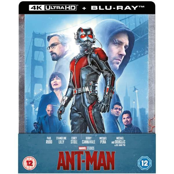 Ant-Man - Steelbook Limited Edition (4K Blu-ray + Blu-ray) für 14,42€ inkl. Versand (Zavvi.de)