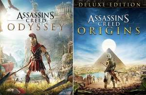 [PC] Assassin's Creed Odyssey Standard Edition oder Assassin's Creed Origins Deluxe Edition - 5€ (Ubisoft Store)