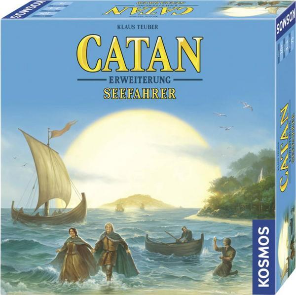 Brett- & Gesellschaftsspiel Catan Seefahrer Erweiterung (BGG 7,7, 3-4 Spieler) od. Catan Städte und Ritter (BGG 7,5) + Füllartikel