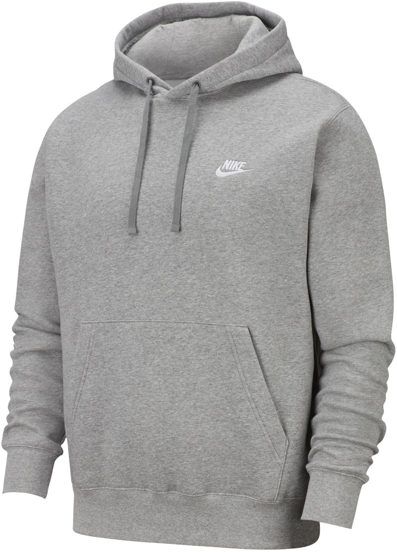 Nike Sportswear Club Fleece Hoodie in grau (Gr. S)