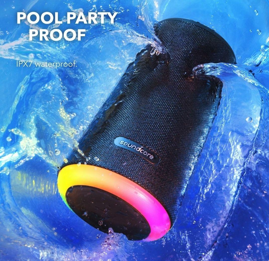 Anker Soundcore Flare+ Bluetooth Party Lautsprecher IPX7 360° Rundum-Sound 20H (39,99€ möglich!)