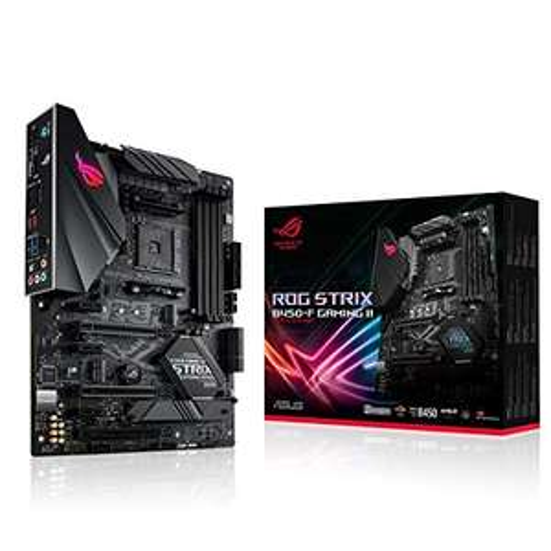Asus ROG Strix B450-F Gaming II Mainboard Sockel AM4 für 89.90€ + 25€ Cashback möglich (Rate-Your-Gear-Aktion)