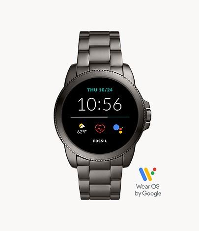Sommer Sale bei Fossil mit bis zu 50% auf ausgewählte Styles + jetzt mit 20% on top, z.B. Gen 5E Smartwatch Edelstahl Grau