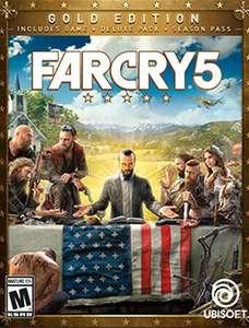 Far Cry 5 Gold : Spiel + Season-Pass + Far Cry 3 Classic (Xbox One & Series X S) @ Microsoft Store Brazil