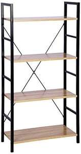 [Amazon Marketplace] Standregal Metallregal Bücherregal Lagerregal 116x60x28cm